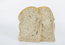 Slice bread isolated on white background Royalty Free Stock Images