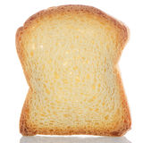 Slice of bread toasted Royalty Free Stock Images