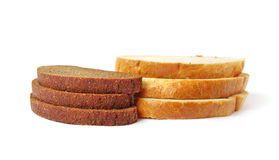Slice of breads. Stock Photos