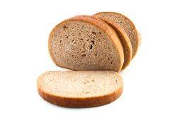 Slice of brown bread Royalty Free Stock Photography