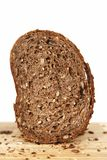 A slice of brown bread Stock Image