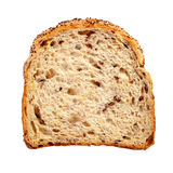 Slice of Brown Bread Stock Photo