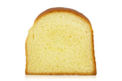 Slice of bun stock photo