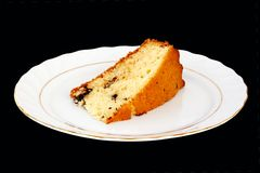 A slice of cake Stock Image