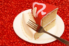 Slice of Cake stock photos