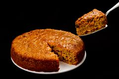 A slice of Cake Royalty Free Stock Photography