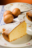 A slice of cake. Stock Images