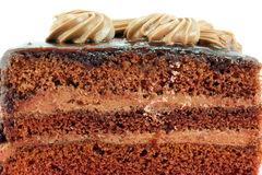 A slice of cake Royalty Free Stock Photos