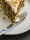 Slice of Cake Royalty Free Stock Photos