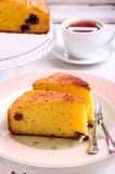 Slice of cake Royalty Free Stock Images