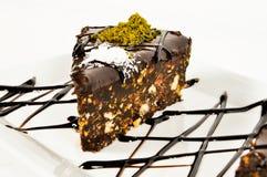 Slice cake Stock Photo