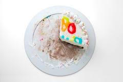 Slice cake Stock Photos