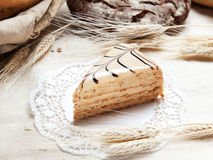 Slice of cake Stock Images