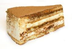 Slice of cake tiramisu Royalty Free Stock Photos
