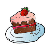 Slice Of Cake. Stock Images