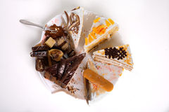 Slice of Cakes Royalty Free Stock Photography