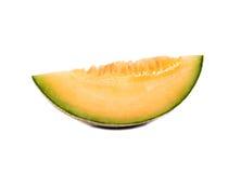 Slice cantaloupe melon Royalty Free Stock Photos