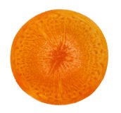 Slice carrot Stock Image