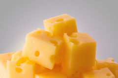 Slice of cheese Stock Photo