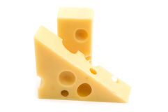 Slice cheese Royalty Free Stock Images