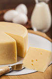 Slice of cheese Stock Images