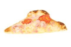Slice of cheese on toast Stock Photo