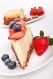 Slice of cheesecake Royalty Free Stock Photo