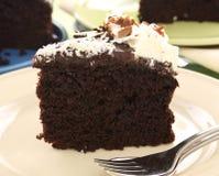 Slice Of Chocolate Cake Stock Photos