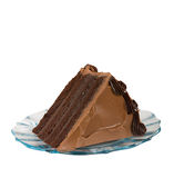 A Slice of Chocolate Cake stock photography