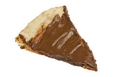 Slice of Chocolate Pizza stock photos