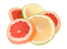 Slice of citrus stock images
