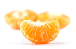 Slice of Clementine orange Royalty Free Stock Photography