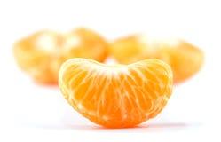 Slice of Clementine orange Royalty Free Stock Photography