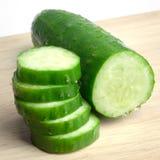 Slice cucumber Stock Image