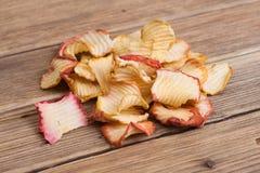 Slice Dried Apple fruit Stock Photo