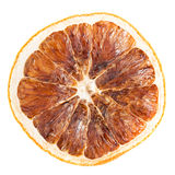 Slice of dried orange Royalty Free Stock Photo