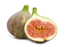 Slice fig Royalty Free Stock Image