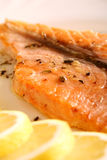 A slice of fish 02 Royalty Free Stock Photos