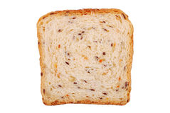 The slice fitness bread isolated Royalty Free Stock Images