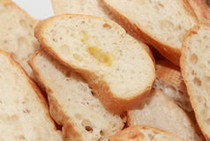 Slice french baguette Stock Photo