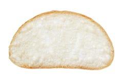 Slice of fresh italian ciabatta bread Stock Photography