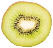 Slice of fresh juicy kiwi Stock Images