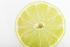 Slice of fresh juicy lemon Royalty Free Stock Image