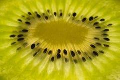 A slice of fresh kiwi Stock Image