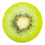 Slice of fresh kiwi fruit. Stock Photo