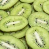 Slice of fresh kiwi Royalty Free Stock Images