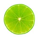 Slice of fresh lemon stock photo