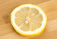 Slice of lemon background Royalty Free Stock Images