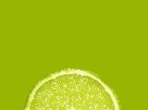 Slice of fresh lime Stock Photos