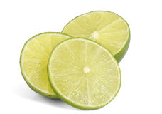 Slice of fresh lime. Royalty Free Stock Image